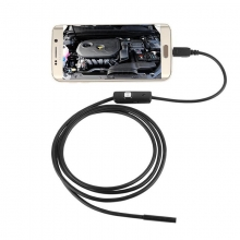 Эндоскоп - бороскоп, мини камера цифровая USB SUN 2 метра 5,5 мм