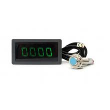 Электронный тахометр с магнитным датчиком Холла (универсальный измеритель оборотов)
