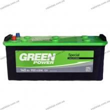 Аккумуляторная батарея 140 а/ч 6 ст Green Power АЗГ