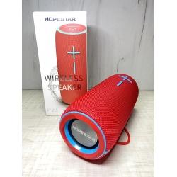Портативная беспроводная Bluetooth колонка Hopestar P21 10Вт, 2400mAh, радио, красная