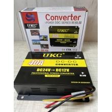 Понижающий преобразователь напряжения - инвертор с 24 вольт на 12 вольт 40А UKC DC-DC