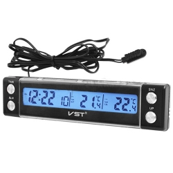 Часы - термометр VST - 7036