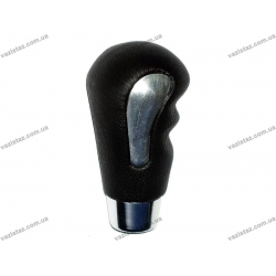 Ручка КПП 52080 черная/хром
