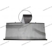 Шторка солнцезащитная c роликовым механизмом 100 х 50 см TH-777B черная сетка