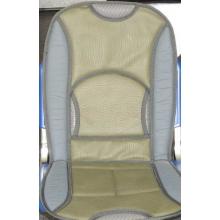 Накидка на сиденье серо-бежевая F-14058 D комбинир. кожа