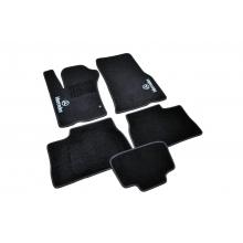 Коврики в салон ворсовые (текстильные) Mercedes ML163 (1997-2005) /Чёрные 5шт