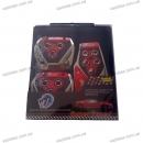 Накладки на педали KING XB-375 серый/красный/синий