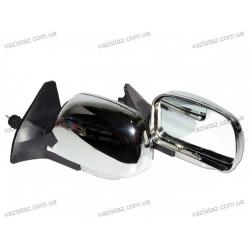 Зеркала боковые/ ВАЗ 08,09,13-15/ хром с регулировкой и поворотом (2 шт.) KL-2109L Chrome