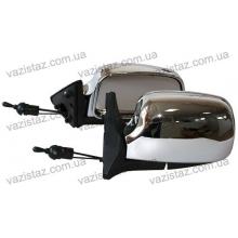 Зеркала боковые/ ВАЗ 04,05,07/ хром, сферические (2 шт.) ЗБ-3107 Chrome