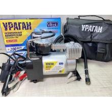 Компрессор Ураган КА-У12052 Vitol с автостопом 150PSI/15A/40л/ прикур.+переходник
