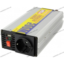 Преобразователь напряжения 12v - 220v | 500Вт | USB | Pulso IMU-500 | модифицирован. волна