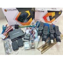 Односторонняя автомобильная сигнализация CYCLONE A20 + комплект центральных замков (без сирены)