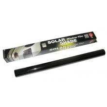 Пленка тонировочная SOLUX 100см *3м не выгорает супер черная S.D.Bk 3%