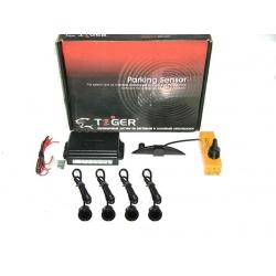 Парктроник Tiger TG-P4 Black (4 дат.) съемные датчики