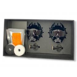 Освежитель воздуха в автомобиль (подарочный ароматизатор в машину) Pitbull + 2 сменных картриджа + многоразовый (2шт.) Черный