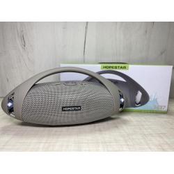 Портативная беспроводная Bluetooth колонка Hopestar H37 10Вт, 1500mAh, радио, серая