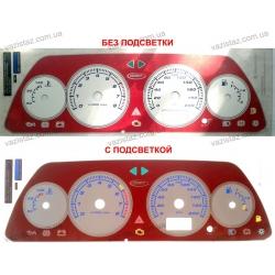 Вставки в панель приборов ВАЗ 2110, 2111, 2112