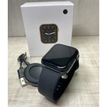 Cмарт часы (фитнес-браслет) SMART WATCH W26, голосовой вызов, термометр, black