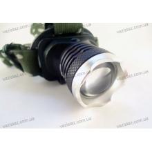 Налобный фонарь Police BL-6809-18000W XPE, zoom, аккум.