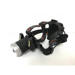 Налобный фонарь с аккумулятором или на батарейках 3*АА Police JR-6000-T6 2COB