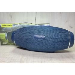 Портативная беспроводная Bluetooth колонка Hopestar H20X 8W*2+15W, 6000mAh, радио, темно синяя