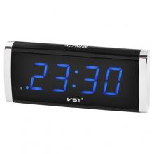 Часы сетевые VST VST-730-5 синяя подсветка