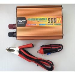 Автомобильный преобразователь напряжения с 12 на 220 вольт 500W (конвертер напряжения)