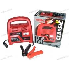 Зарядное устройство VOIN VC-125 для автомобильного аккумулятора | 12V/4A/12-60AHR | стрел.индик.