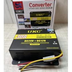 Понижающий преобразователь напряжения - инвертор с 24 вольт на 12 вольт 30А UKC DC-DC