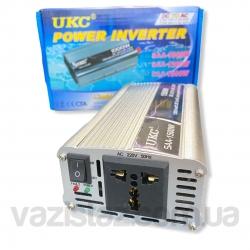 Автомобильный преобразователь напряжения 12-220 вольт 1500 Вт UKC SAA-1500W (инвертор напряжения)