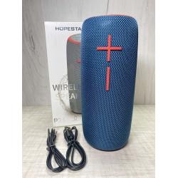 Портативная беспроводная Bluetooth колонка Hopestar P21 10Вт, 2400mAh, радио, синяя
