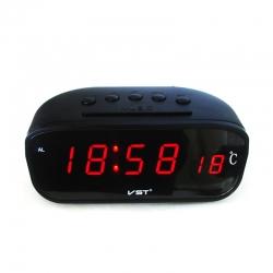 Автомобильные часы - термометр VST 803С-1