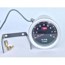 Тахометр стрелочный LED 7705-2, d52мм
