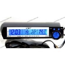 Часы-термометр-вольтметр VST - 7043V
