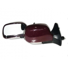 Зеркало заднего вида на ВАЗ 2109 - 2115 с повторителем бордовые KL-2109L Red