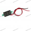 Цифровой встраиваемый вольтметр (врезной) 12В 24В