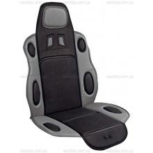 Накидка на сиденье черно-серая F-19002 GY/BK Vitol