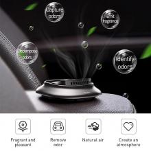 Ароматизатор для автомобиля (освежитель воздуха в машину) Baseus Grey + 4 сменных картриджа
