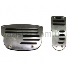 Накладки на педали автомат F-82106 SBK