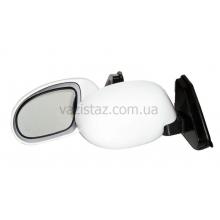 Зеркала боковые универсальные белые на шарнире (2 шт.) ЗБ-3252B White
