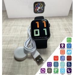 Cмарт часы с приемом звонков Apl Watch Series 6 M441, 100% копия 44mm Aluminium, беспроводная зарядка Черные