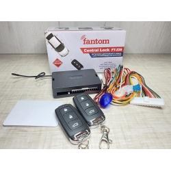 Интерфейс центрального замка с дистанционным управлением Fantom FT-228 (выход на багажник/окна/поиск)