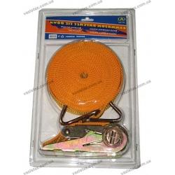 Стяжной ремень с храповым механизмом 3т | 47мм | 10м ST-213-10 OR (в пластике)