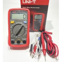 Цифровой мультиметр - тестер профессиональный UNI-T UT33C+