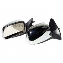 Зеркала боковые/ ВАЗ 08, 09, 13-15/ с регулировкой хром антиблик (2 шт.) YH-3109 Chrome