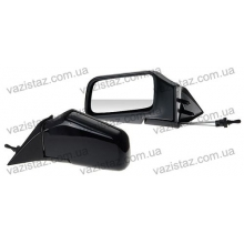 Зеркала боковые универсальные черные с регулировкой (2 шт.) ЗБ-3287 Black