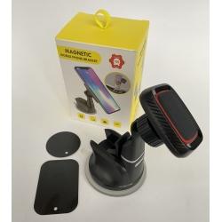 Держатель автомобильный, магнитный холдер Magnetic H-CT301, автодержатель для телефона на присоске Черный