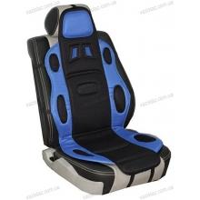 Накидка на сиденье черно-синяя F-19002 BL/BK Vitol