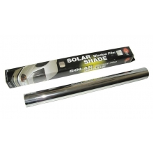 Пленка тонировочная зеркальная SOLUX 76см *3м не выгорает Silver