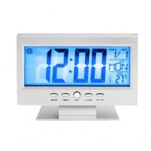 Часы будильник Generic DS-8082 с подсветкой цифровые термометр ЧЕРНЫЙ КОРПУС